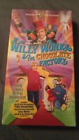 Willy Wonka and the Chocolate Factory (VHS, 2001, Slip sleeve) SEALED NEW