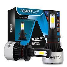 NIGHTEYE 72W H7 LED Scheinwerfer Birnen Leuchte Lampen 6500K 9000LM Xenon Weiß