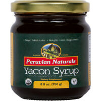 Organic Yacon Syrup 8.8 oz (250 g) - Peruvian Naturals | Low-Glycemic Sweetener
