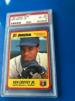 1991 Jimmy Dean Ken Griffey Jr. #2 PSA 6 HOF