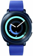Samsung Gear 1.2 Inch AMOLED Screen 4GB Sport Smart Watch - Blue