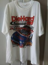 1999 Talladega Die Hard 500 30th Anniversary Nascar White T Shirt Men's Size Xl