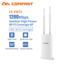 1200Mbps 360° Outdoor Dual Band Repeater High Power 2.4&5.8Ghz Bridge Wireless