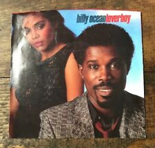 Billy Ocean-Lover Boy-45-Dub Mix-Record-1984-Sterling Title Strips for Juke Box
