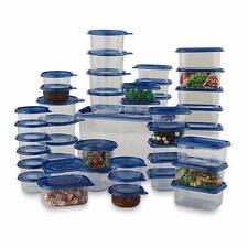 88 Pcs Food Storage Container Set Plastic Bowls With Lids Microwave Safe Kitchen