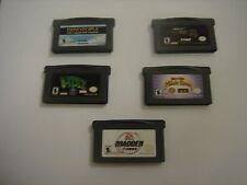 5 Game Boy Advance games lot A