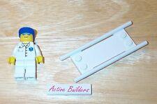 Lego Minifig Ambulance Medic Stretcher Hospital 60023 Doctor Emergency