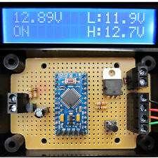 12V PROGRAMMABLE LOW VOLTAGE DISCONNECT (LVD) WITH LCD DISPLAY - PROTECT BATTERY