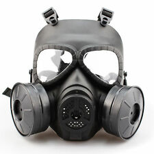 MSA Gas Mask Double Filter Fan CS Edition Perspiration Dust Face Guard New