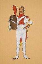 Pochoir P Froger Uniforme 3° Grenadiers à Pied de la Garde Impériale, Hollandais