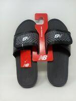 NWT New Balance Men's Cush+ Slide Sandal Black White PHM3064BKW Men's 10