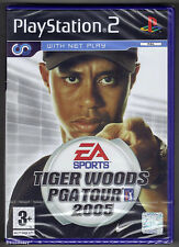 PS2 Tiger Woods PGA Tour 2005, UK Pal, Brand New & Sony Factory Sealed