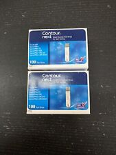 Contour Next Retail Diabetic test strips 200 Strips. Excellent Boxes!