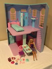 Barbie Talking Townhouse Dollhouse 2002 Access Card Electronic Lights Sounds