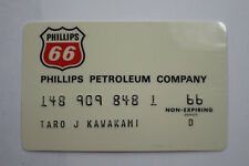 Unused 1969 Phillips 66 Gas Credit Card, Shiny With Envelope Vtg
