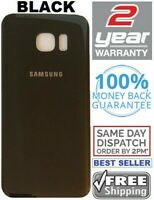 Replacement For Samsung Galaxy S7 Edge BLACK Battery Cover Glass Back Door
