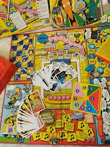 The Simpsons Board Game Complete checked  Good Condition 2000