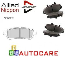 Allied Nippon Front Brake Pads For Ford Fiesta MK7