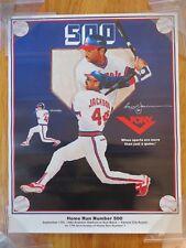 September 17, 1984 REGGIE JACKSON No 44 CALIFORNIA ANGELS 500 HOME RUN Poster
