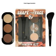 W7 shape your face contour kit sealed contour,bronze and highlight easy to use