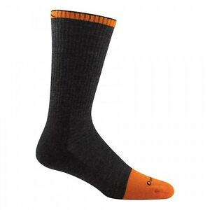 DARN TOUGH 2006 MEN'S Graphite MERINO Steely WOOL BOOT SOCK Full Cushion Toe