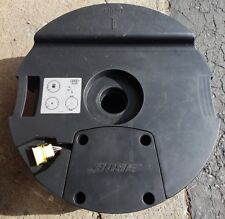 07-14 Audi Q7 Rear Subwoofer Round Box And Speaker OEM 4L0-035-382-B