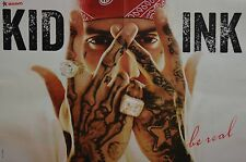 Kid Ink-POSTER a3 (circa 42 x 28 cm) - skinning fan Raccolta Nuovo