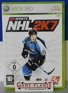 NHL 2K7 Xbox 360 Eishockey Sport 2K PAL NEU in OVP und Anleitung Einkaufgp USK 0
