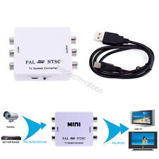 PAL/NTSC/SECAM to PAL/NTSC MINI Bi-directional TV System Switcher Converter A