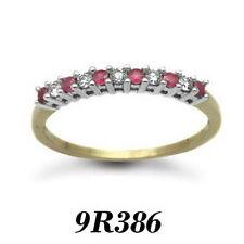 Runde solitäre Diamanten-Ringe