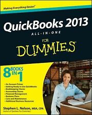 QuickBooks 2013 All-in-One For Dummies by Nelson, Stephen L., Good Book