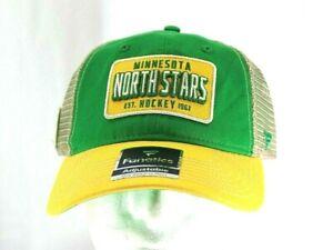 Minnesota North Stars NHL Green / Yellow Baseball Cap Snapback