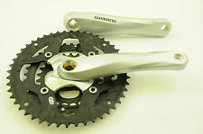 SHIMANO FC-M443 9SPD 170mm MTB TRIPLE 48/36/26T CHAINWHEEL CHAINSET MTB