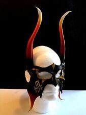 Loki Horns IFRIT Demon Mask Leather Viking Mask Viking Cosplay DEMON HORNS