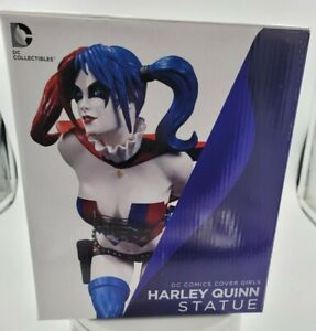 DC Direct Collectibles Cover Girls Figure HARLEY QUINN Statue 2nd Edition in Box