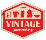 The Vintage Kitchen Pantry