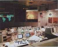 Eugene Kranz Signed 8x10 Photo Autographed NASA Apollo Flight Director