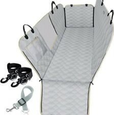 Pet Dog Car Seat Cover Waterproof Hammock Truck Suv Back Rear Protector Mat,gray