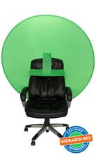 "Webaround 56"" Round Pop Up Chair Green Screen – Seller Refurbished"