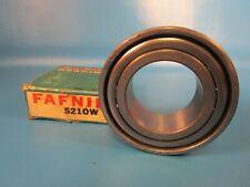 Fafnir 5210w Double Row Angular Contact Bearing 30 Contact Angle Timken