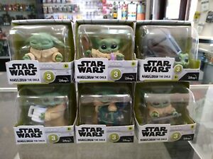 Star Wars The Mandalorian The Bounty Collection Series 3 Grogu Complete set of 6
