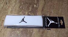 Nike Air Jordan Jumpman Headband Sweatband White/Black JKN00101-OS