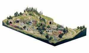 Woodland Scenics HO Model Rail Road Train Grand Valley Layout Kit 4x8 WOOST1483