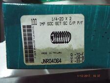 IMP Socket Set Screw 1/4-20 x 2