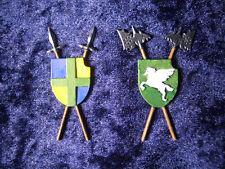 2 piece Heraldry Set Thomarillion Unpainted Metal Dwarven Forge D&D