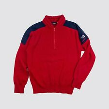 Vintage 80s The North Face Extreme Quarter Zip Wool Pullover Adult Small Medium