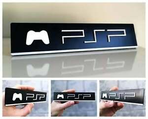 Sony PlayStation Portable PSP 3D logo / shelf display / fridge magnet