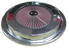 1976-1981 C3 CORVETTE CHROME K&N RED FILTER TOP AIR CLEANER LID - TOP- COVER.