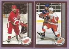 2002-03 OPC O-PEE-CHEE Detroit Red Wings Team Set