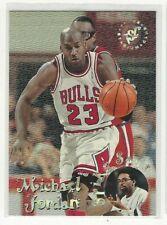 1996 TOPPS STADIUM CLUB MICHAEL JORDAN # SS1 SPIKE SAYS.